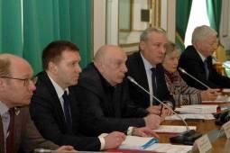 Заседании Общественного совета при вице-губернаторе Санкт-Петербурга. Март 2018.