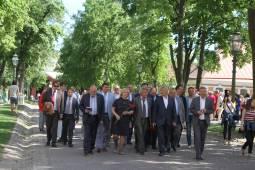 Общественная палата отметила День города в Петропавловской крепости