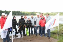 Экологическая акция ОНФ по очистке Дудергофского озера
