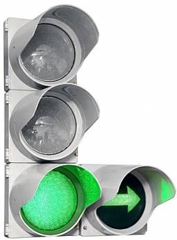 Замена ламповых светофоров на диодные